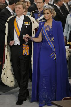 King Willem Alexander & Queen Maxima