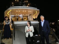 #MonteCarloYachts Launch Party at @Singapore Yacht Show 2014 #simpsonmarine #SYS #SGP #MCY #SingaporeYachtShow #SingaporeYachtShow2014 #Singapore