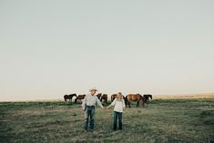 Brooke + Hunter I had so much freaking fun running through the lush Flint Hills of Kansas with these two a few weeks ago; wild horses even decided to photobomb some of their photos (dream come freaking true!)  Brooke & Hunter show their love for one another so effortlessly. They started dating s