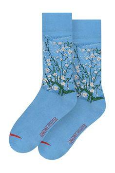 MuseARTa - Носки Vincent van Gogh - Almond Blossom | ANSWEAR.ua Van Gogh Almond Blossom, Vincent Van Gogh, Socks, Model, Products, Scale Model, Sock, Stockings