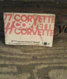 1977 corvette owners manual