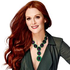 Julianne Moore (cover photo of InStyle Magazine, Oct. 2013 issue)