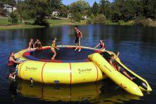 Water Trampolines | Inflatable Water Trampolines, Aqua Jump & Bongo