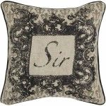 Rizzy Home - Beige and Black Decorative Accent Pillows (Set of 2) - T04318