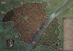 Wilthorm - a Fantasy City by *Khorghil on deviantART