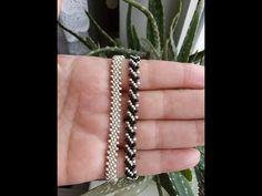 We think you might like these Pins Beading Tutorials, Beading Patterns, Beaded Jewelry, Beaded Bracelets, Bracelet Tutorial, Craft Work, Bead Weaving, Pearl Beads, Handmade Bracelets