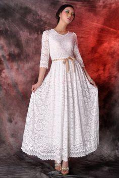 Spitze Brautkleid Abendkleider