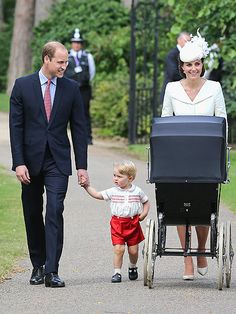 First Photos of Royal Family of 4! Princess Kate, Prince William, Prince George and Princess Charlotte Enter Church for Christening http://www.people.com/people/package/article/0,,20395222_20935548,00.html