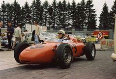 1964 Carel Godin de Beaufort - Porsche 718 GP Germania Nurburgring