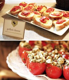 Great shower & party food ideas! Easy recipes too