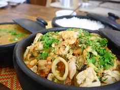Seus amigos não vão mais querer sair da sua casa depois de comer essa caldeirada de frutos do mar. Chef: Pedro Benoliel