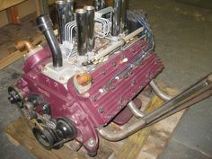 Electronic fuel injection adapted to a Ford 337 Flathead.