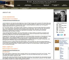 (The Anderson Group: About Us)
