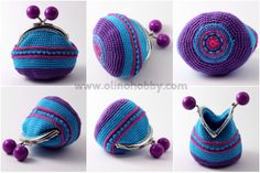 Crochet purses with ball clasp – OlinoHobby – Crochet Bag İdeas. Crochet Clutch Bags, Crochet Wallet, Crochet Coin Purse, Crochet Shoes, Crochet Handbags, Crochet Slippers, Knit Or Crochet, How To Make Purses, Beaded Purses