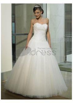Suntuosos vestidos de novia 2012 sin tirantes magnífico baratos