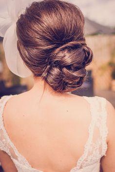 wedding hairstyle; photo: Marc Smith Photography