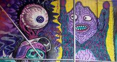 GREG MISHKA – ART BASEL MIAMI 2014 #greg #mishka #art #basel #miami #beach #2014 #art #festival #streetart #mural #wynwood #painting