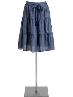 This skirt is great for summer with gladiator flats!