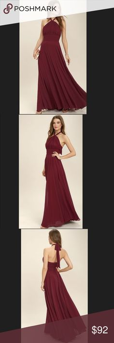 "LuLus - Dance Of The Elements Dress. LuLus - Dance Of The Elements Dress.                              Size : Medium Armpit to Armpit 17"" Approx Length 58"" LuLus Dresses"