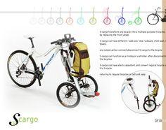 S-Cargo transforme votre vélo en utilitaire
