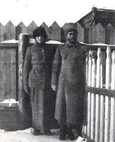 Tatiana Nikolaevna and Tsar Nicholas II