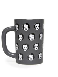 Look what I found from Out of Print! Edgar Allan Poe-ka Dots mug – Out of Print #OutofPrintClothing