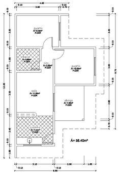 planta baixa de casas geminadas - Pesquisa Google