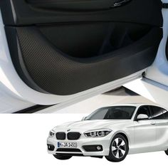DOOR TRIM PANEL SCRATCH RESISTANT GUARD COVER CARBON FABRIC for BMW 1Series F20 #bricx