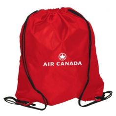 Promotional Products Ideas That Work: DRAWSTRING KNAPSACK. Get yours at www.luscangroup.com