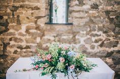 English Country Garden Wedding Flowers | Eden Flower School & Wedding Flowers Country Garden Weddings, English Country Gardens, Summer Wedding, Wedding Flowers, Table Decorations, School, English Gardens, Wedding Ceremony Flowers, Bridal Flowers