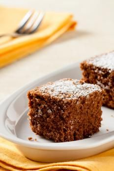 Brownies with chestnut flour - Brownies con farina di castagne