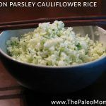 Lemon-Parsley Cauliflower Rice