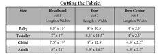 Measurements for the messy bow headwrap Measurements for the messy bow headwrap Diy Baby Headbands, Stretchy Headbands, Turban Headbands, Diy Hair Bows, Baby Turban, Ribbon Hair, Turban Headband Tutorial, Headband Pattern, Diy Headband