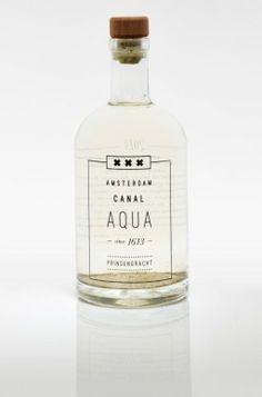 Nu te koop: Amsterdams grachtenwater in hippe flessen - Culy.nl