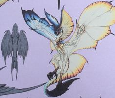 Damn Wyvern Gems - theworstbear: Legiana concept art.