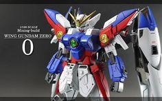 MG 1/100 Wing Gundam Zero - Customized Build