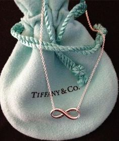 Tiffany and Co infinity bracelet and i HAVE THIS! :) #Tiffany