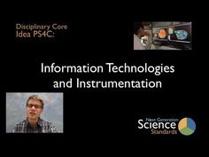 NGSS physical science disciplinary core idea PS4C Information Technologies & Instrumentation