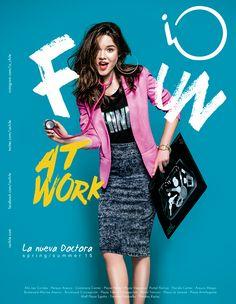 "iO ""Fun at Work"" Spring/Summer 2015 on Behance Web Design, Email Design, Flyer Design, Layout Design, Branding Design, Creative Poster Design, Graphic Design Posters, Graphic Design Inspiration, Ad Fashion"