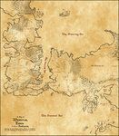 Map of Song of Ice and Fire