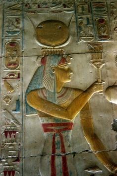 From The Temple of Seti I  --  Abydos, Egypt