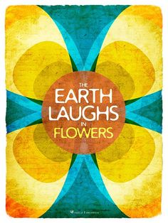 Items similar to The Earth Laughs in flowers / Ralph Waldo Emerson quote - Art Print / Inspirational typographic illustration on Etsy Ralph Waldo Emerson, Quotes By Famous People, Famous Quotes, Words Quotes, Wise Words, Random Quotes, Life Quotes, Laughter Quotes, Cool Words