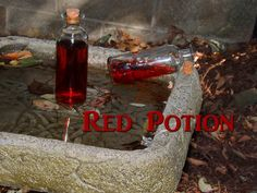 Red Potion (The Legend of Zelda cocktail)  Ingredients:8 oz Cran-Apple juice1.5 oz Kraken Black Spiced Rum0.5 oz blanco tequila  Directions: Combine all ingredients in a glass/bottle on ice.