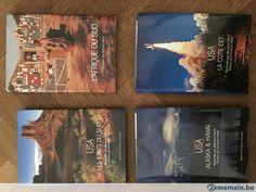Lot de 4 Livres Artiste Historia USA - Afrique du sud - A vendre