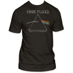 ba15e6d3 Pink Floyd Dark Side Of The Moon Distressed Fitted T-Shirt - Black - Small