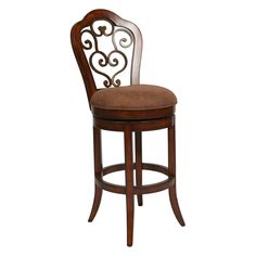 Have to have it. Pastel 26-in. Carmel Swivel Counter Stool - Cosmo Sepia $399.00