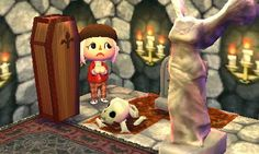 Animal Crossing Happy Home Designer, scary gruselig