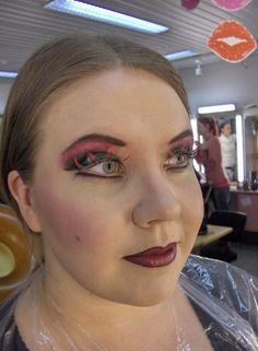 Opera makeup. Model: Laura