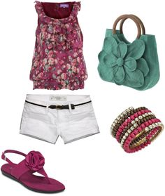 summer, created by kmay2186 on Polyvore