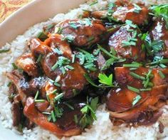 Slow Cooker Teriyaki Chicken | AllFreeSlowCookerRecipes.com